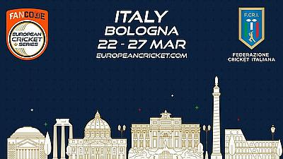 European Cricket Series Bologna T10 2021