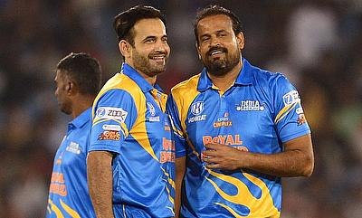 India Legends Irfan Pathan and Yusuf Pathan
