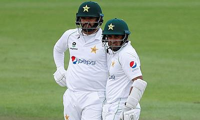 Pakistan's Abid Ali and Azhar Ali