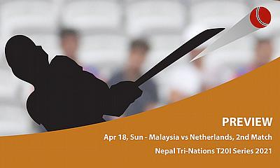 Cricket Betting Tips & Match Predictions : Nepal Tri-Nation T20I Series 2021- Malaysia vs Netherlands- Match 2