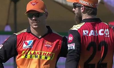 SRH's Warner and Williamson