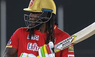Chris Gayle is back....