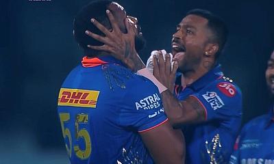 Pollard wins it for Mumbai Indians