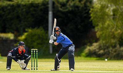 An inspired George Dockrell maiden century leads Leinster Lightning to victory over Northern Knights