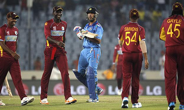 India and the West Indies also met in the semi-finals of the ICC World Twenty20 last year where India won by seven wickets