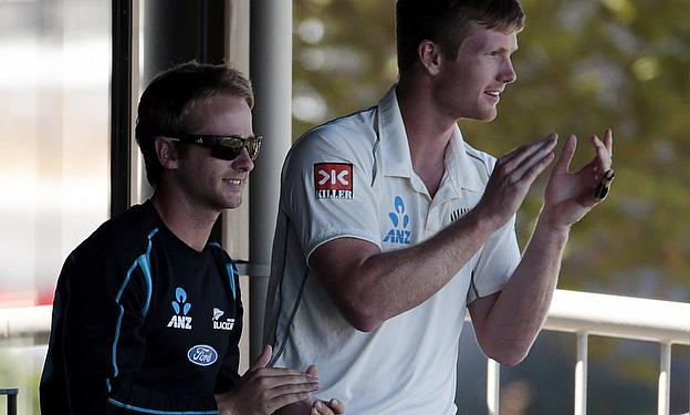 Kane Williamson, James Neesham