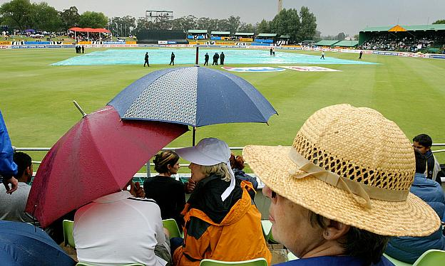 No play was possible on the final day in Benoni