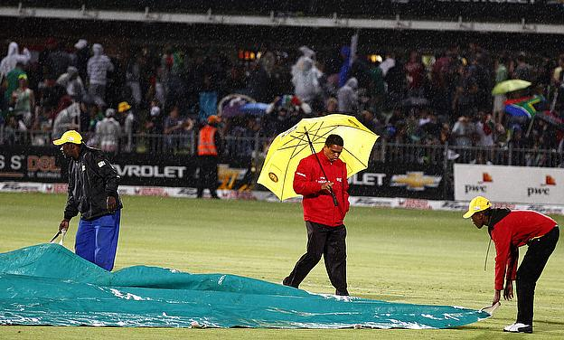 Rain Forces A Draw In Port Elizabeth Test