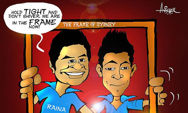 Cartoon: Raina, Rahul 'In The Frame'