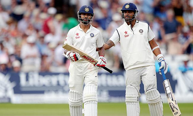 Mammoth opening partnership gives India the box seat on day one