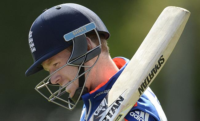 Eoin Morgan happy with England's progress