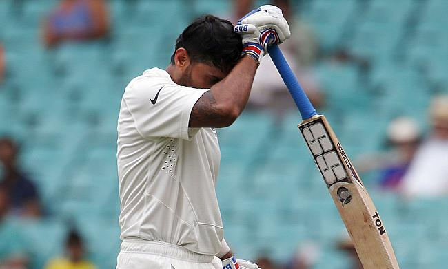 Murali Vijay fined 25% match fee for violating ICC's logo regulations
