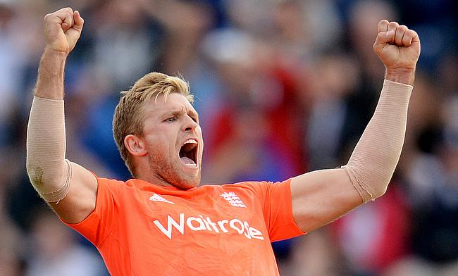 David Willey ready for Australian challenge