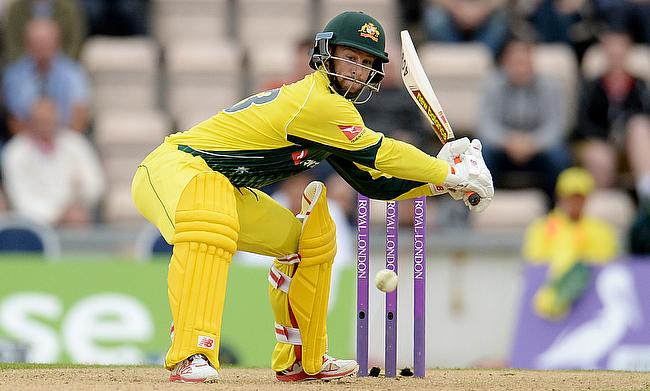 Matthew Wade played a brilliant unbeaten knock of 71 as Australia defeated England by 59 runs in the first ODI in Southampton.