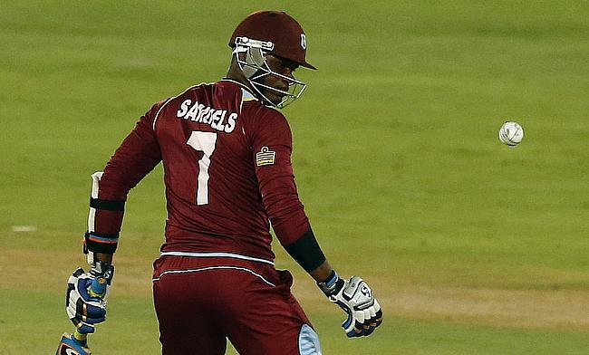 Marlon Samuels allowed to bowl in second ODI
