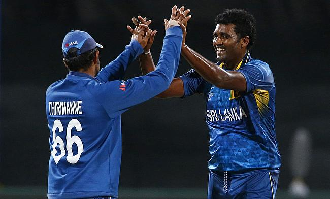 Thisara Perera included for West Indies T20Is