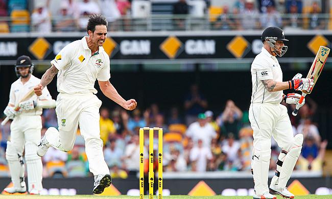 Starc, Johnson leave New Zealand reeling on day two
