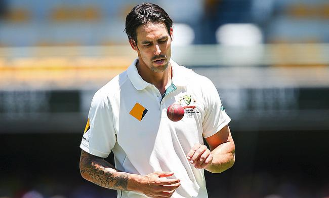 Mitchell Johnson wants to retire from cricket in front of his home crowd.