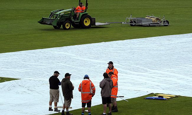 Rain abandons fourth ODI between New Zealand and Sri Lanka