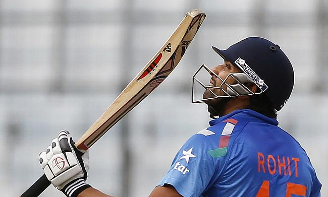 Rohit, Pandey, spinners find form in 64-run victory for India