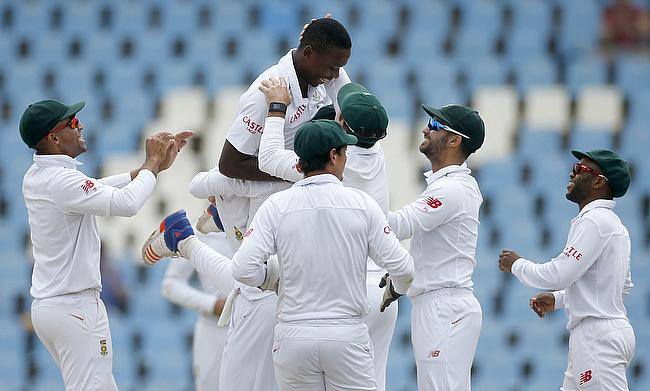Rabada special ends South Africa's winless drought