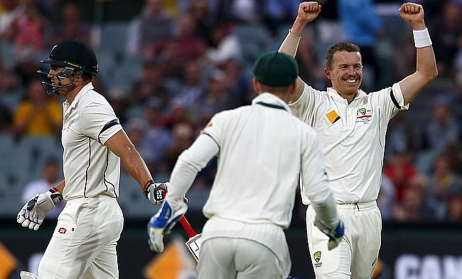 Back injury forces Peter Siddle out of second Test against New Zealand