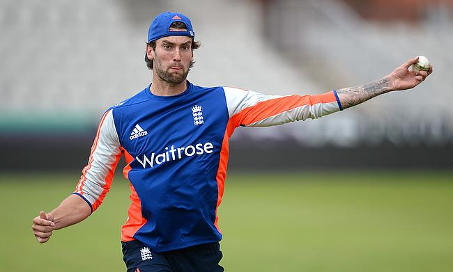 Reece Topley receives official reprimand from ICC