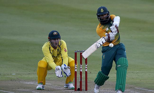 Hashim Amla's knock of 97 included eight boundaries and four sixes.