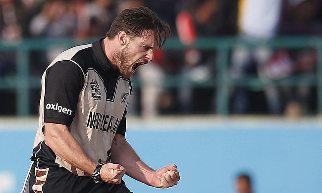 Mitchell McClenaghan suffered the injury while playing in the Natwest T20 Blast