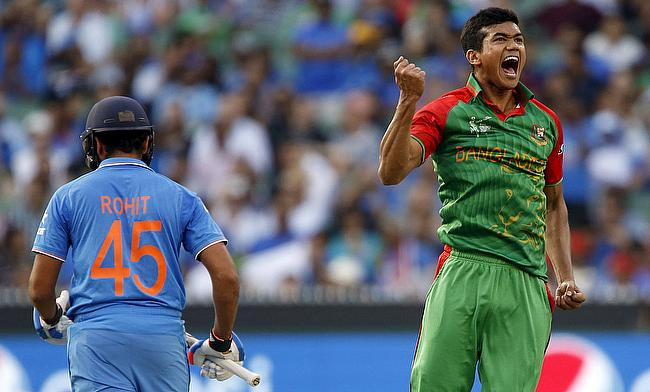 Taskin Ahmed (right) is expected to join the squad for the Afghanistan ODI series.