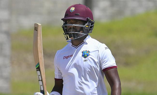 Bravo, Brathwaite fifties follow Bishoo five-fer as West Indies fight back
