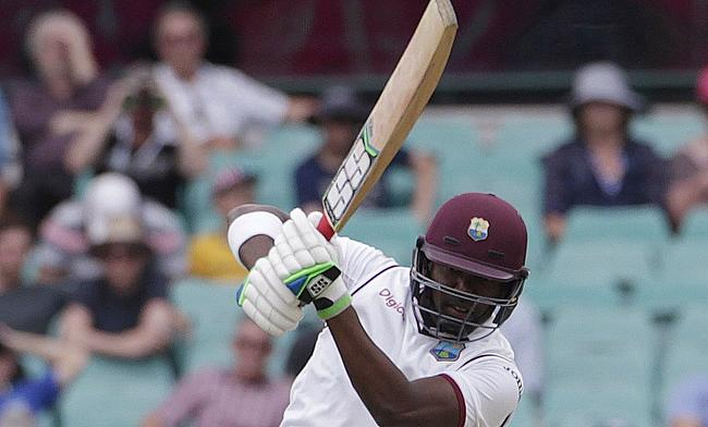 Darren Bravo top scored for West Indies with 87 runs