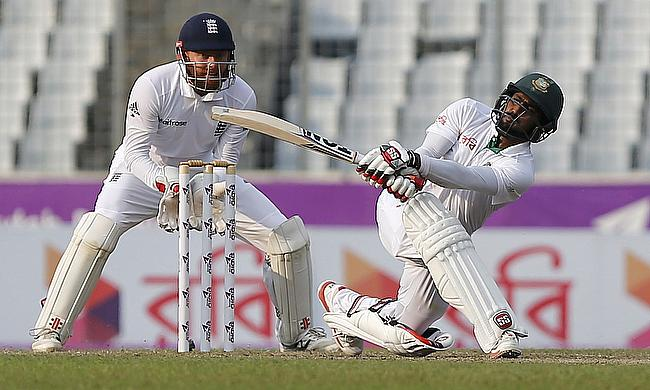 Mehedi Hasan's six-wicket haul puts Bangladesh ahead on day two