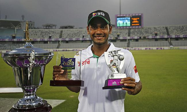 Mehedi Hasan bagged man of the match and the man of the series as well