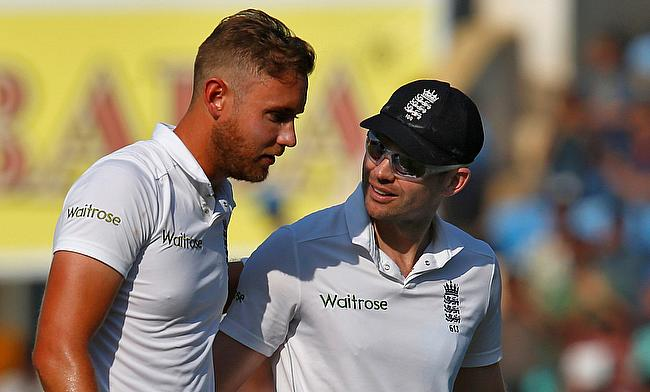 Stuart Broad likely to miss Mohali Test against India