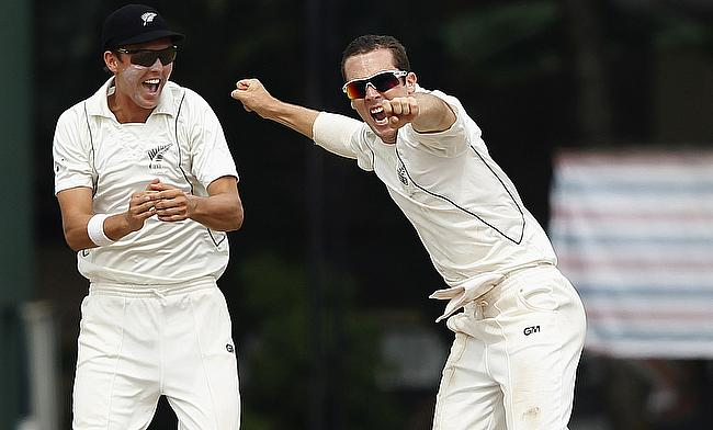 Todd Astle (right) is yet to feature for New Zealand in ODIs