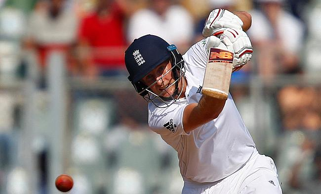 Joe Root us the leading run-scorer for England in the series