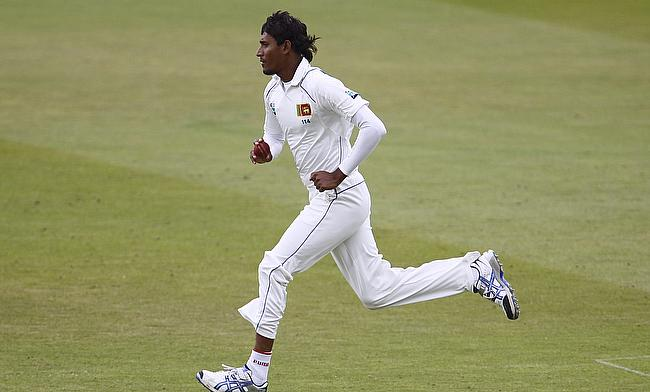 Suranga Lakmal picked four wickets on the opening day