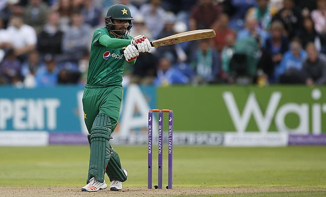 Babar Azam scored 98 for Pakistan