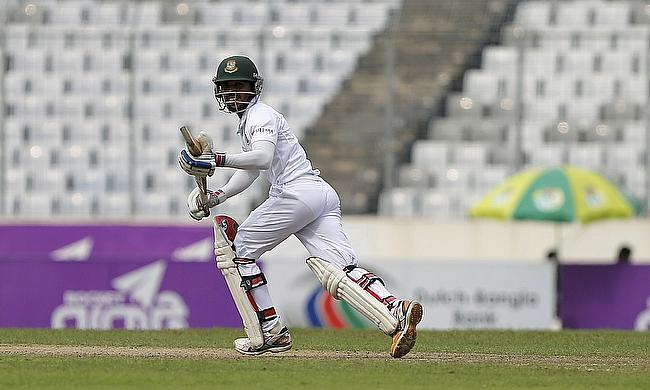 Mominul Haque was impressive in his knock of 64