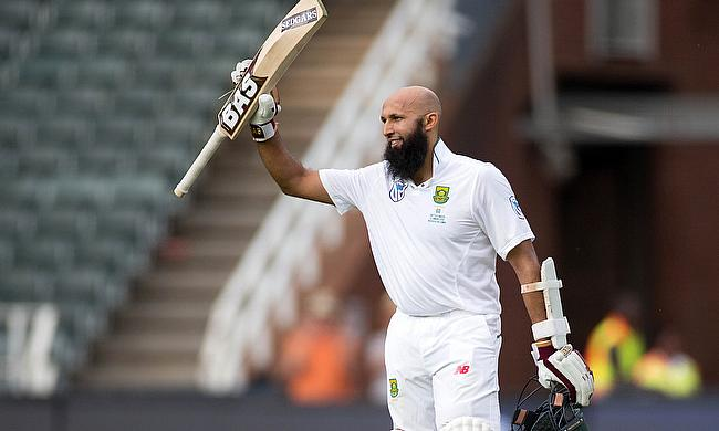 Hashim Amla made his 100th Test appearance a memorable one