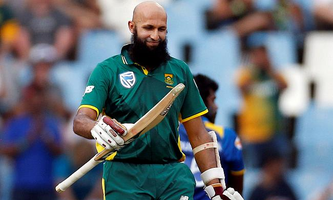 Hashim Amla scored 154 off 134 deliveries in the Centurion ODI