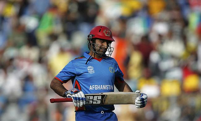 Asghar Stanikzai was the only batsman to score a fifty in the game