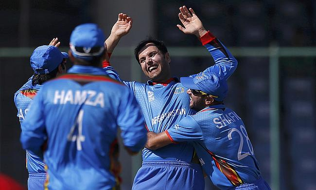 Mohammad Nabi was once again among the wickets