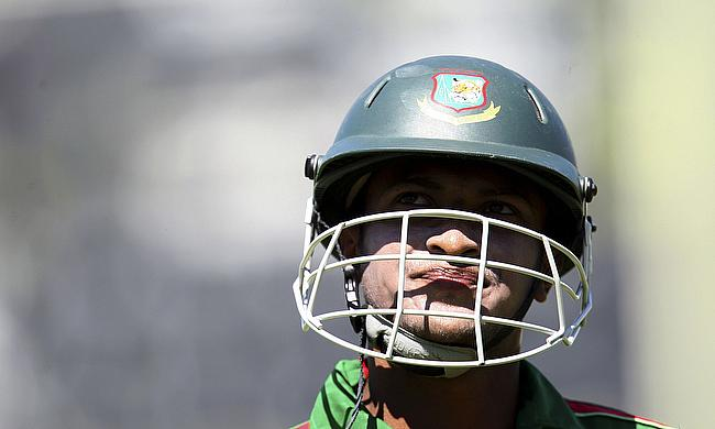 Shakib Al Hasan scored a brilliant century for Bangladesh on day three