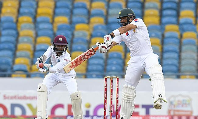 Misbah ul Haq missed out on a deserving century on day three of Barbados Test