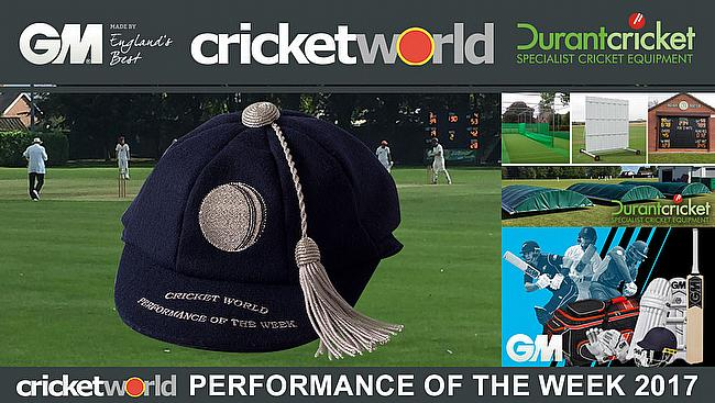 Cricket World Performance of the Week 2017