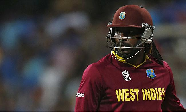 Chris Gayle last played during the victorious World T20 final in April last year