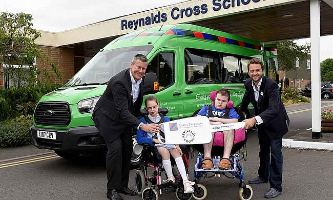 Birmingham Youngsters Benefit from new Lord's Taverners Minibus in Memory of Rachael Heyhoe Flint