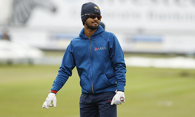 Dinesh Chandimal missed the first Test in Galle